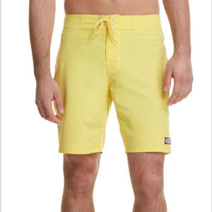 Vineyard Vines Sz 28 Solid Board Shorts Yellow